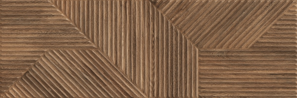 Ceramika Paradyz коллекция Woodskin элемент WOODSKIN BROWN STRUKTURA A 29,8X89,8